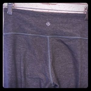 "Lulu lemon 3/4"" length leggings"